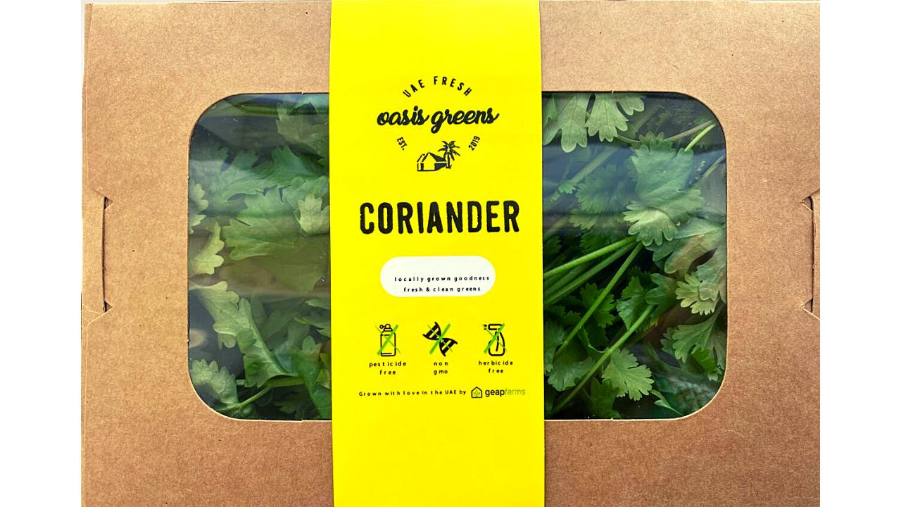 OG Packaging Coriander